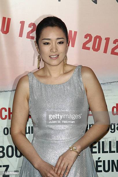 Gong Li attends the Paris Chinese Film Festival at Cinema Gaumont Marignan on May 14 2012 in Paris France