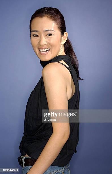Gong Li during 2003 Toronto International Film Festival 'Zhou Yu's Train' Portraits at Intercontinenal Hotel in Toronto Ontario Canada