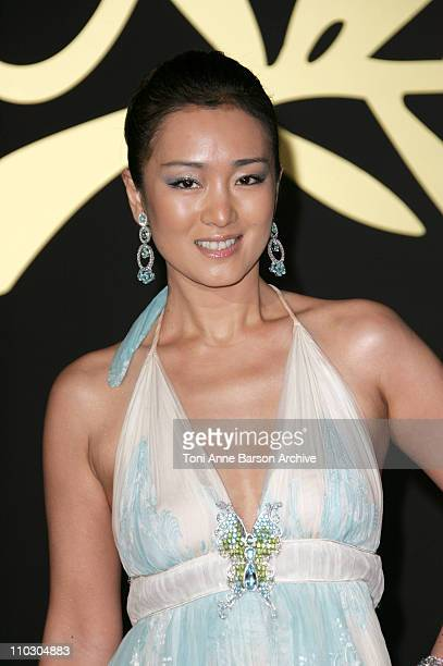 Gong Li during 2007 Cannes Film Festival 60th Anniversary Dinner in Cannes France