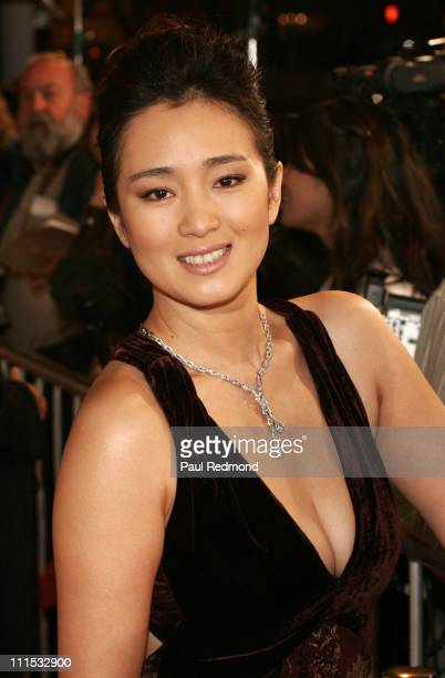 Gong Li during AFI Fest 2006 Presented by Audi Closing Night Gala Presentation of Zhang Yimou's Curse of the Golden Flower at Cinerama Dome in...