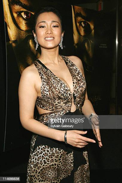 Gong Li during MetroGoldwynMayer Pictures' and The Weinstein Company's Premiere of Hannibal Rising Inside Arrivals at AMC Loews Lincoln Square Center...