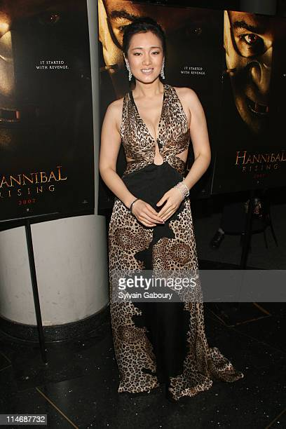 """Gong Li during Metro-Goldwyn-Mayer Pictures' and The Weinstein Company's Premiere of """"Hannibal Rising"""" - Inside Arrivals at AMC Loews Lincoln Square..."""