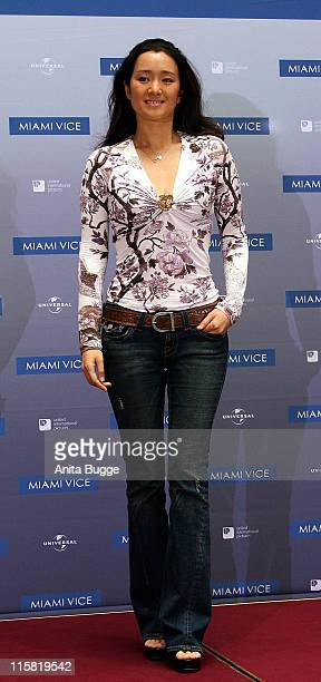 Gong Li during Miami Vice Berlin Photocall July 29 2006 in Berlin Germany