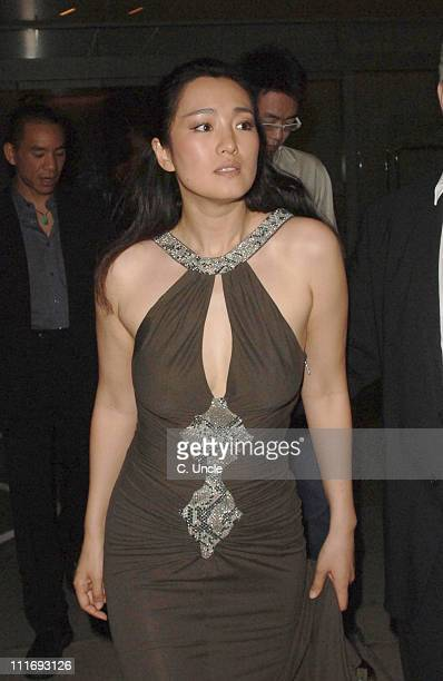 Gong Li during Miami Vice London Premiere After Party at Sanderson Hotel in London Great Britain