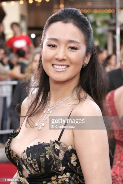Gong Li during Universal Pictures Presents the World Premiere of Miami Vice at Mann Village Theater in Westwood California United States