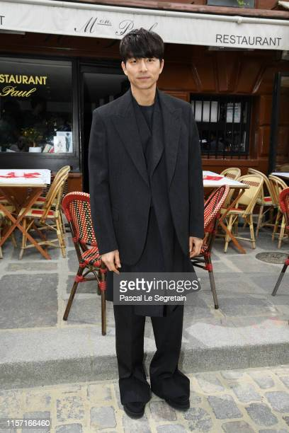 Gong Yoo attends the Louis Vuitton Menswear Spring Summer 2020 show as part of Paris Fashion Week on June 20 2019 in Paris France