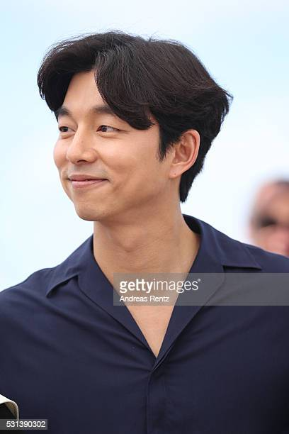 Gong Yoo attends the 'Train To Busan ' photocall during the 69th Annual Cannes Film Festival on May 14 2016 in Cannes France