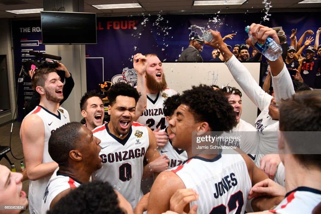 NCAA Men's Final Four - South Carolina v Gonzaga : News Photo
