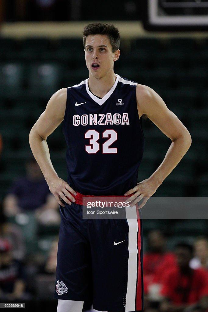 NCAA BASKETBALL: NOV 24 Advocare Invitational - Gonzaga v Quinnipiac : News Photo