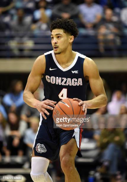 Gonzaga Ryan Woolridge during a college basketball game between the Gonzaga Bulldogs and the San Diego Toreros on January 09 at the Jenny Craig...