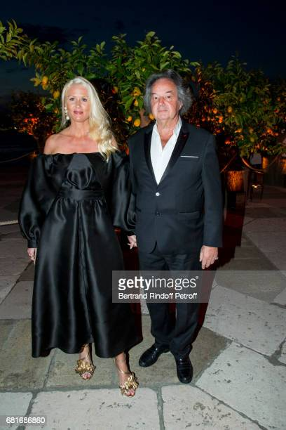 Gonzague Saint Bris and Alice Bertheaume attend the Cini party during the 57th International Art Biennale on May 10 2017 in Venice Italy