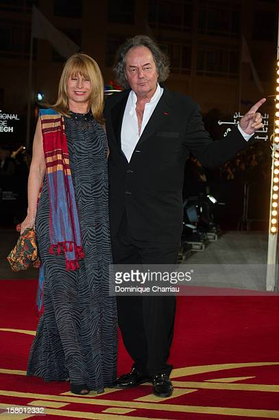 Gonzague Saint Bris and guest arrives to the awrard ceremony of the 12th International Marrakech Film Festival on December 8 2012 in Marrakech Morocco