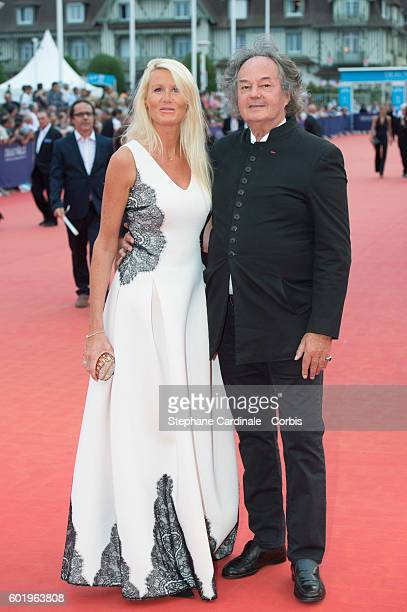 Gonzague Saint Bris and guest attend the Closing Ceremony of the 42nd Deauville American Film Festival on September 10 2016 in Deauville France