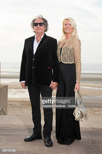 Gonzague Saint Bris and guest attend the Opening Dinner for the benefit of the association ' Children of the sun' during the 30th Cabourg Film...