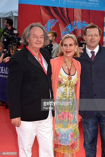 Gonzague Saint Bris and guests arrive at the The Hundred Foot Journey' Premiere 40th Deauville American Film Festival at the CID on September 6 2014...