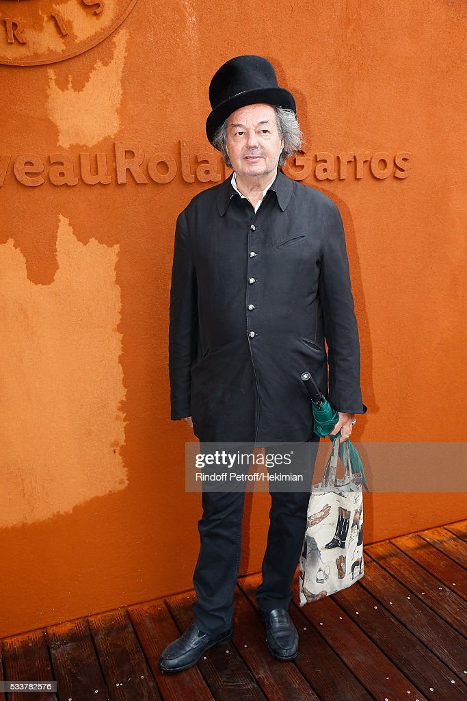 Gonzague Saint Bris attends the 2016 French Tennis Open - Day Two at Roland Garros on May 23, 2016 in Paris, France.