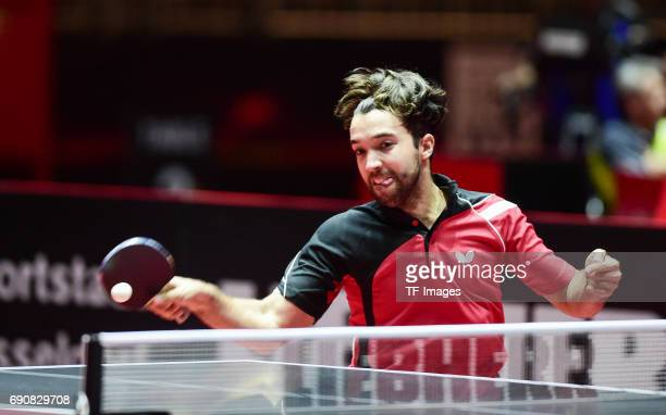 Gonzalez Daniel of Peru 'n in action during the Table Tennis World Championship at Messe Duesseldorf on May 29 2017 in Dusseldorf Germany