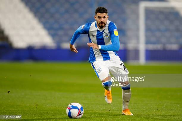 Gonzalo Avila 'Pipa' of Huddersfield Town during the Sky Bet Championship match between Huddersfield Town and Derby County at John Smith's Stadium on...