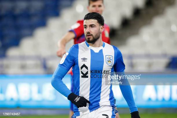 Gonzalo Avila 'Pipa' of Huddersfield Town during the Sky Bet Championship match between Huddersfield Town and Blackburn Rovers at John Smith's...
