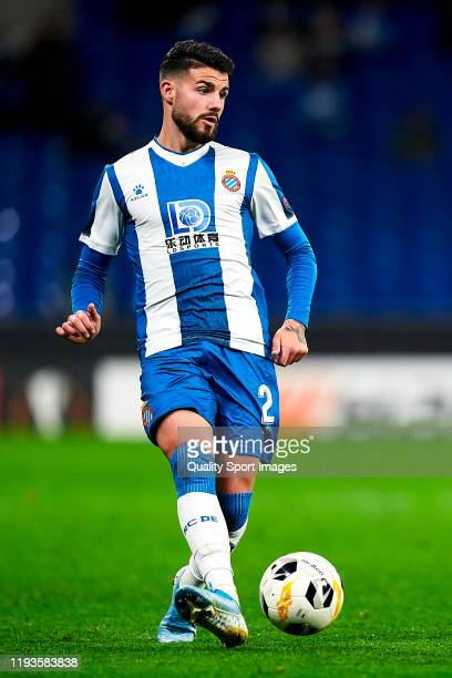 Gonzalo Avila 'Pipa' of RCD Espanyol Barcelona with the ball during the UEFA Europa League group H match between Espanyol Barcelona and CSKA Moskva...
