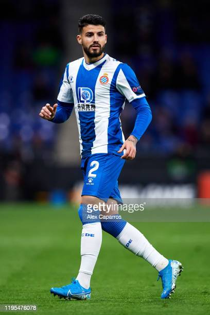 Gonzalo Avila 'Pipa' of RCD Espanyol looks on during the UEFA Europa League group H match between Espanyol Barcelona and CSKA Moskva at Power8...