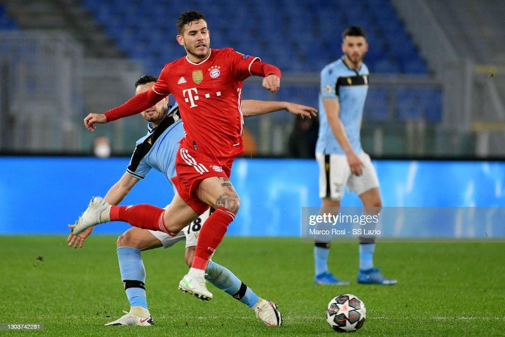 SS Lazio v Bayern Muenchen  - UEFA Champions League Round Of 16 Leg One : News Photo