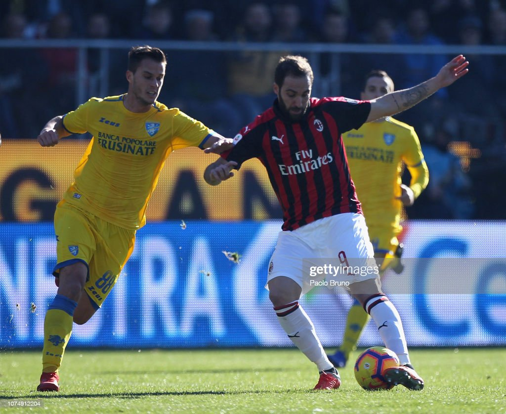 Frosinone Calcio  v AC Milan - Serie A : News Photo
