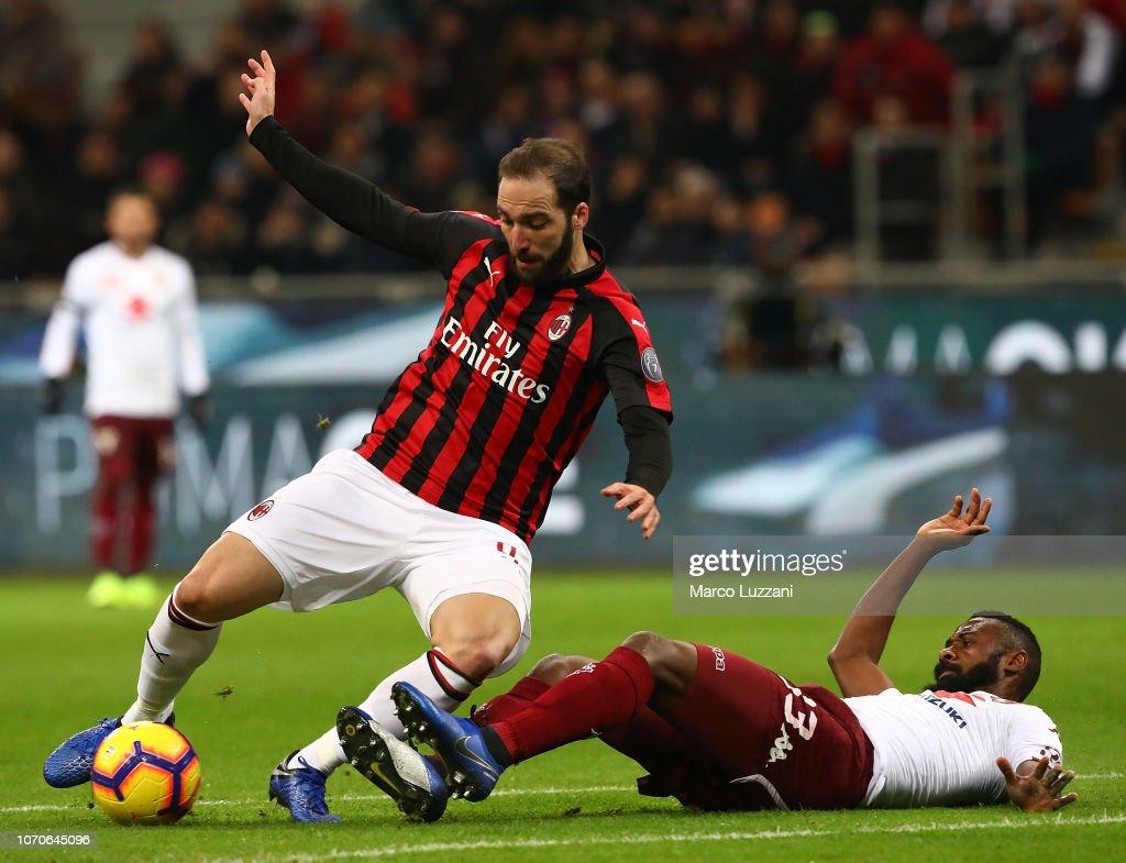 AC Milan v Torino FC - Serie A : ニュース写真
