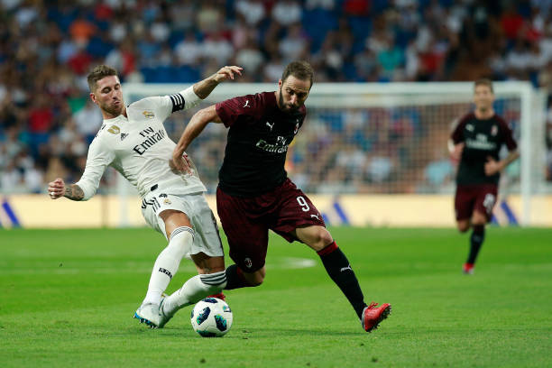 ESP: Real Madrid v AC Milan - Pre-Season Friendly
