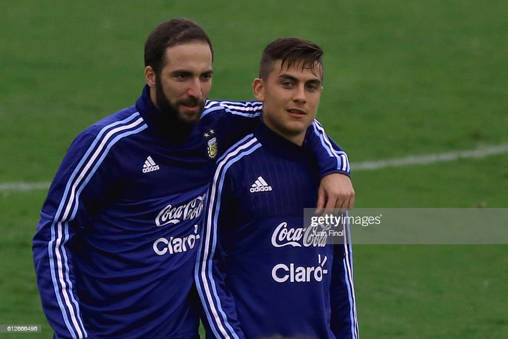 Argentina Training Session & Press Conference : News Photo