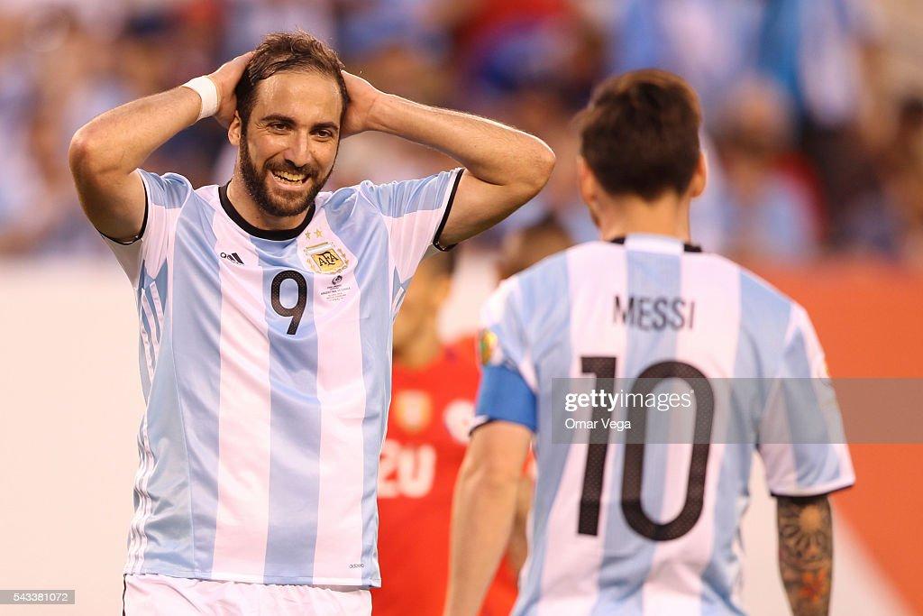 Argentina v Chile: Championship - Copa America Centenario : News Photo