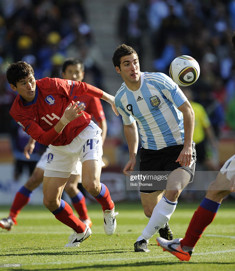 Argentina v South Korea: Group B - 2010 FIFA World Cup