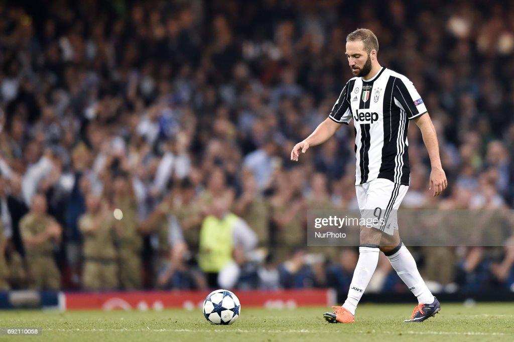 Juvenetus v Real Madrid UEFA Champions League Final 3/6/2017 : Foto di attualità