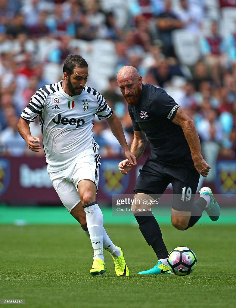 West Ham United v Juventus - Pre-Season Friendly