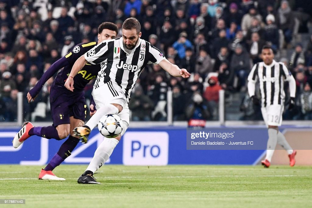 Juventus v Tottenham Hotspur - UEFA Champions League Round of 16: First Leg : News Photo