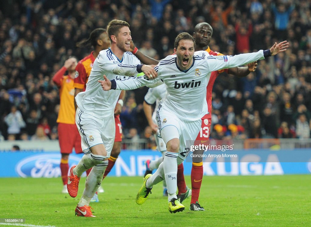 Real Madrid v Galatasaray - UEFA Champions League Quarter Final