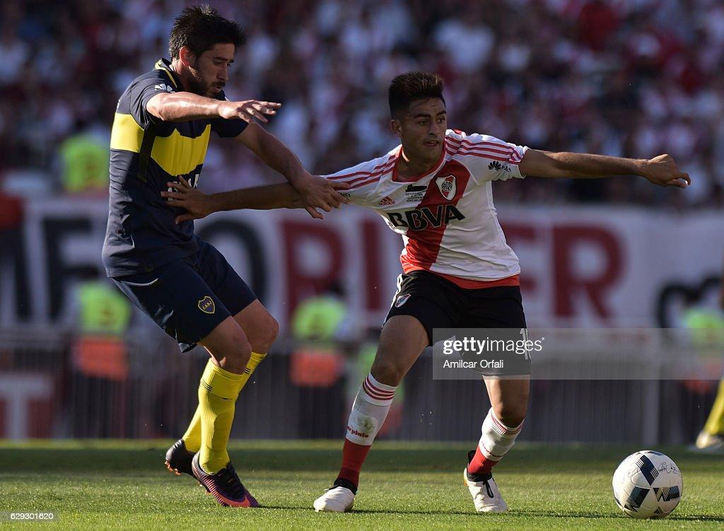 River Plate v Boca Juniors - Torneo Primera Division 2016/17 : Nachrichtenfoto