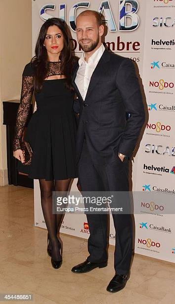 Gonzalo Miro and Ana Isabel Medinabeitia attend SICAB 2013 the International Horse Fair of Spain on December 7 2013 in Seville Spain