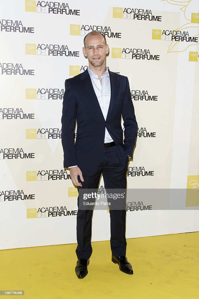 Gonzalo Miro attends Academia del perfume awards photocall at Casa de America on November 20, 2012 in Madrid, Spain.