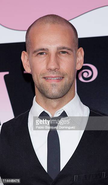 Gonzalo Miro attends 'La Gran Depresion' premiere at Infanta Isabel Theatre on May 19 2011 in Madrid Spain