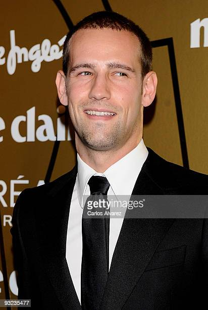 Gonzalo Miro attends the 2009 Marie Claire Prix de la Moda awards at the French Embassy on November 19 2009 in Madrid Spain