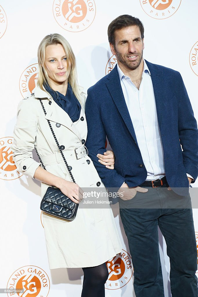 Gonzalo Quesada and his wife attend the Roland Garros Players' Party at Grand Palais on May 19, 2016 in Paris, France.