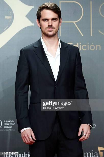 Gonzalo Ramos attends 'Iris Academia de Television' awards at Nuevo Teatro Alcala on November 18 2019 in Madrid Spain