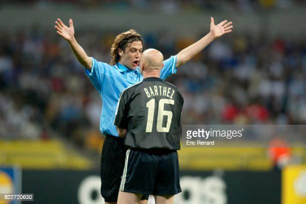 Gonzalo SORONDO / Fabien BARTHEZ France / Uruguay Coupe du Monde 2006 Coree