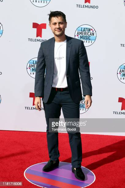 Gonzalo Zulueta attends the 2019 Latin American Music Awards at Dolby Theatre on October 17 2019 in Hollywood California