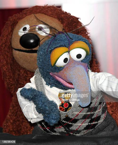 Gonzo arrive for The Muppets Los Angeles Premiere held at the El Capitan Theatre on November 12 2011 in Hollywood California