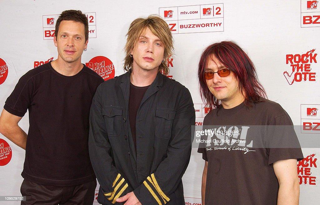 Rock The Vote 2002 Patrick Lippert Awards - Foundation Room