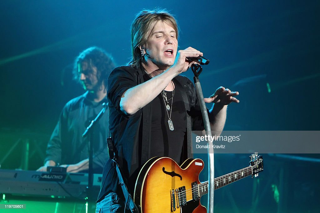 Goo Goo Dolls lead singer John Rzeznik performs at the Tropicana Casino on July 23, 2011 in Atlantic City, New Jersey.