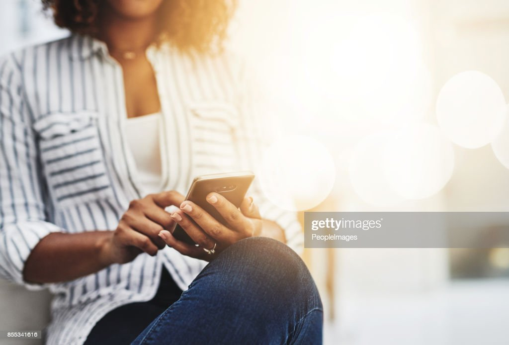 Good company is just a call away : Stock Photo