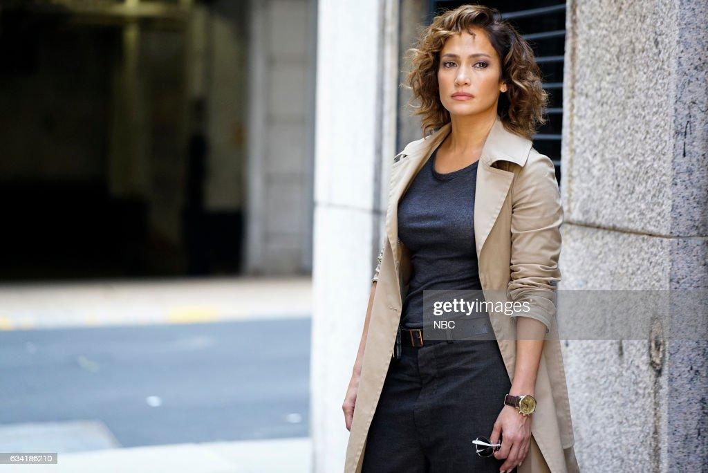 BLUE -- 'Good Cop, Bad Cop' Episode 108 -- Pictured: Jennifer Lopez as Det. Harlee Santos --